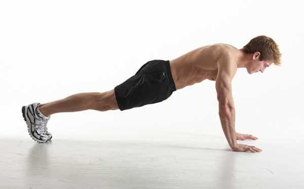 Chống đẩy là cách làm giảm béo bụng hiệu quả