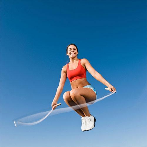 Nên cười để nâng cơ mặt khi tập các môn thể dục liên tiếp đất