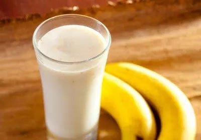 chế độ giảm cân nhanh chóng với sữa và chuối