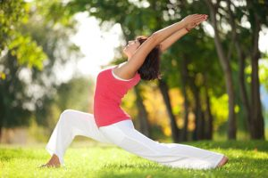 Tập yoga thể dục