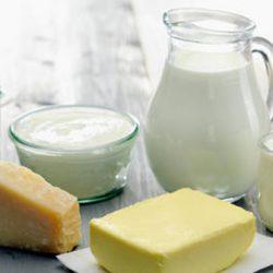 Món ăn bơ và sữa