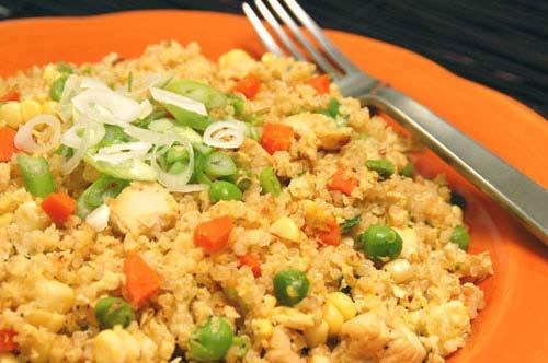 Hạn chế ăn cơm rang để giảm béo
