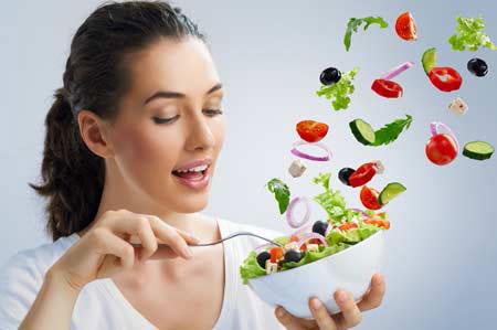 Ăn rau quả giúp giảm béo