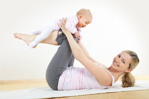Giảm béo sau sinh an toàn