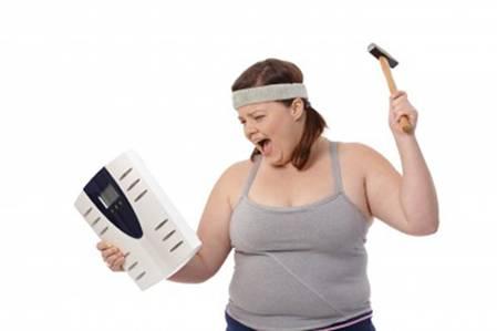 Giảm béo không thành công